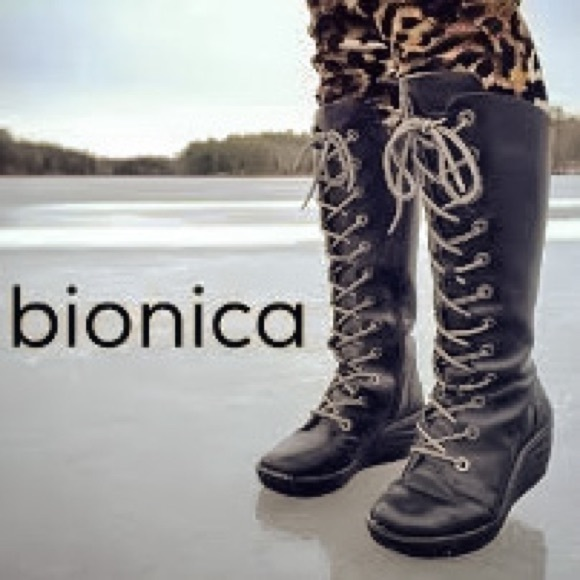 Bionica Culture Leather Lace Up Boot