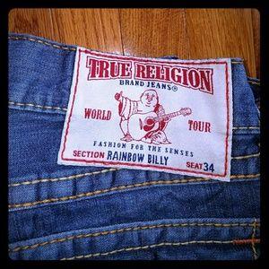 True Religion Rainbow Billy Jeans