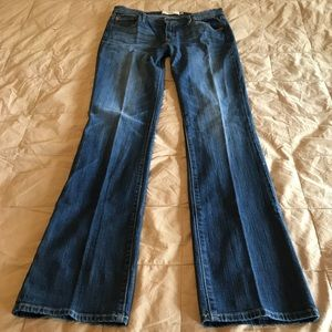 Abercrombie & Fitch Stretch Bootcut Jeans