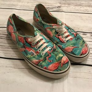 Men's Vans Flamingo Used Sneakers Size 10