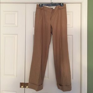 J Crew Favorite for cuffed pants tan size 10