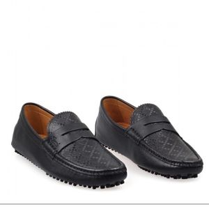 Gucci Diamante Driver Loafers Soft Leather