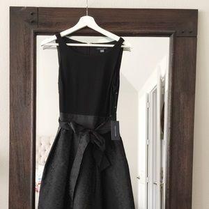 NWT Tommy Hilfiger Black Floral Dress