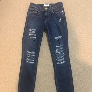 Frame denim jeans size 25
