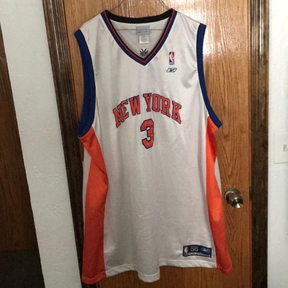 74e3bc060fef Stephon Marbury New York knicks jersey