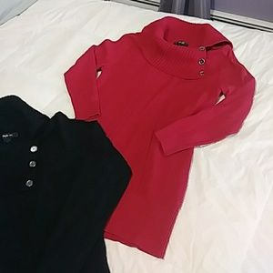 2 Style & Co Sweaters
