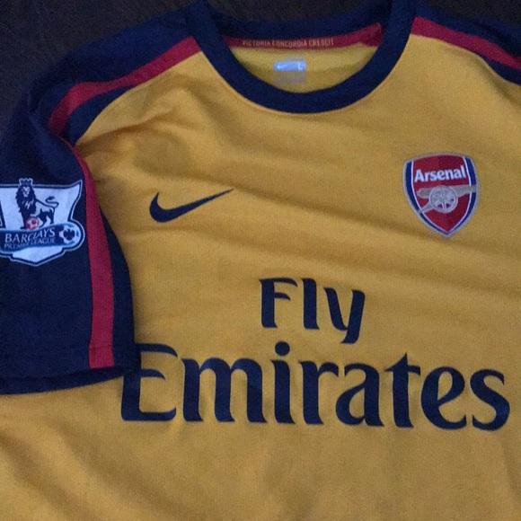 hot sale online d6c8c beb59 Authentic Nike arsenal Fabregas Jersey