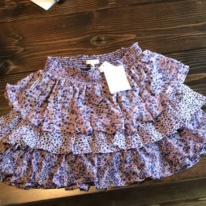 NWT Joie mini skirt xs
