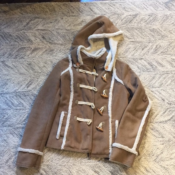 Anthropologie Jackets & Blazers - Anthropologie Idra Faux Shearling Coat