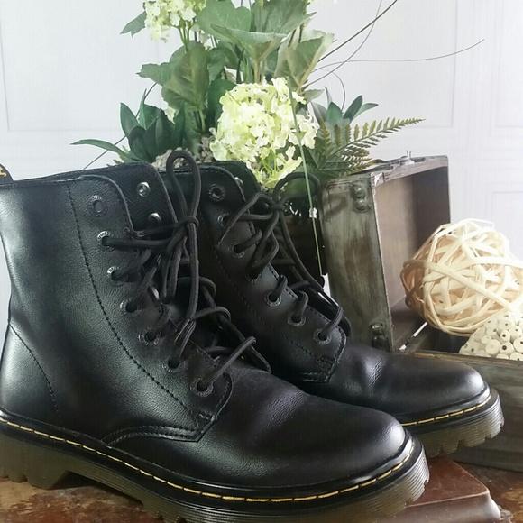 Dr Martens Womens Luana Combat Boot