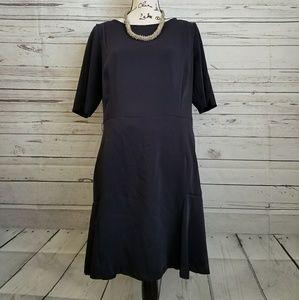🎈Sale🎈ZARA basic black dress short sleeve (A18)