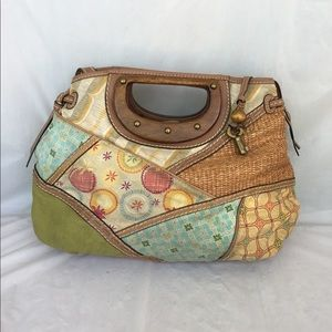 Fossil canvas bag