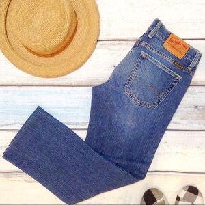 LUCKY BRAND Sundown Straight Leg Denim Jeans
