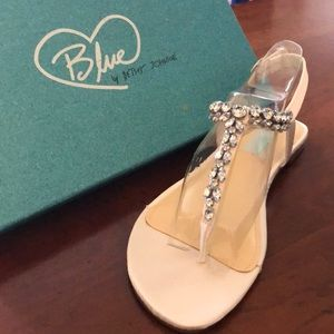 Rhinestone Sandals from Blue by Betsey Johnson