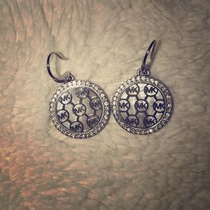 Silver Michael Kors Earrings