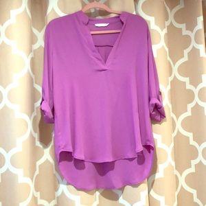 Nordstrom Lush Purple Blouse