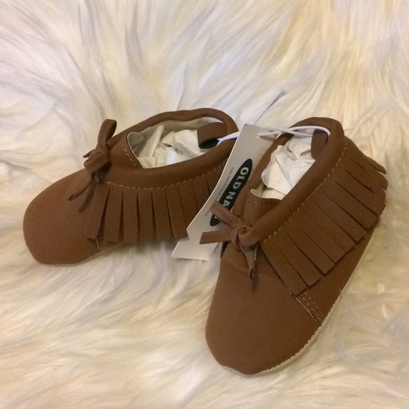 Brand New Old Navy Baby Moccasins