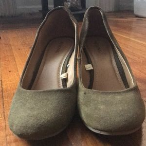 Military Green Wedges