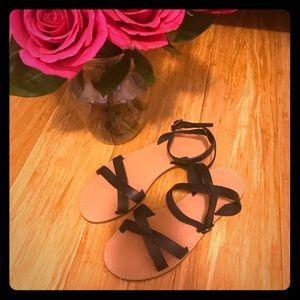 Madewell black sandals