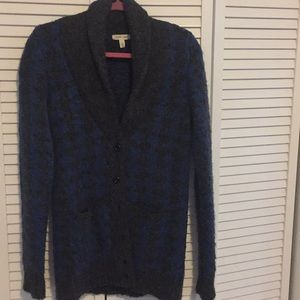 Urban Outfitters Houndstooth Sweater Silence Noise