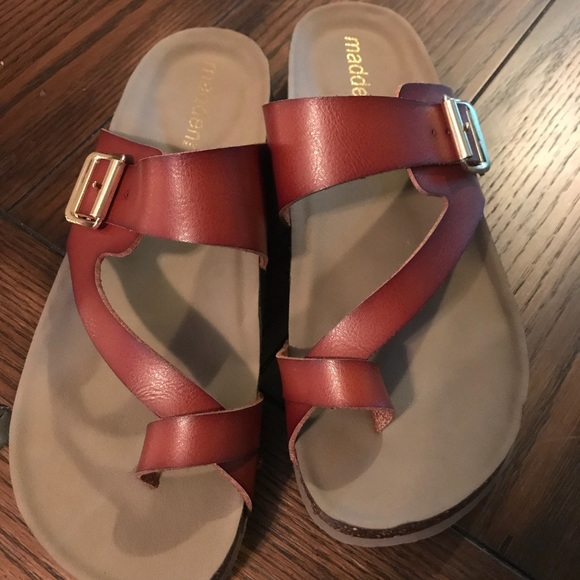 d6b8f90d65a4 Madden Girl Shoes - Madden Girl Brycee Sandals Size 8