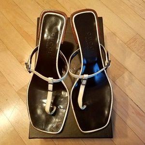 Gucci T-strap Sandals