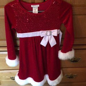 Girls holiday dress size 8