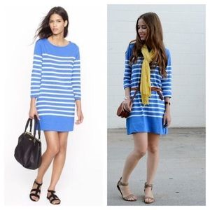 Blue & White Striped J. Crew