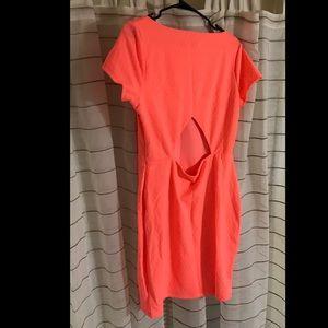 Arden b fiery coral dress NWT