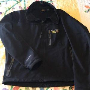 Mountain hardware soft shell jacket