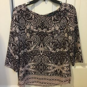 Cynthia Rowley Patterned Blouse