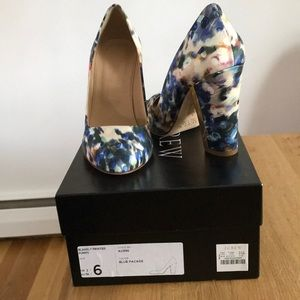 J.Crew Women's collection Blakely Watercolor Pumps