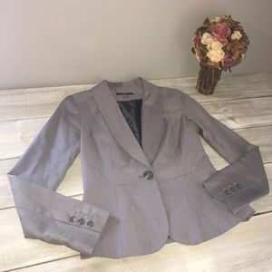 Merona Women's Taupe Blazer Jacket, ladies size 2