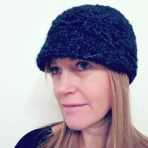 Pistil Knit Beanie Hat with Button Detail