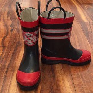 Other - Boys Fireman Rain Boots