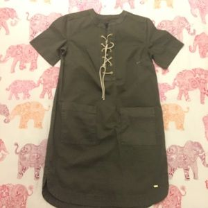 NWOT Tommy Hilfiger Garment Dyed Shirtdress