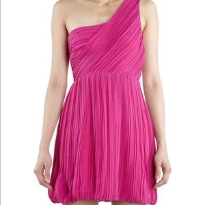 Theory Taliana Dress Hot Pink - NWT