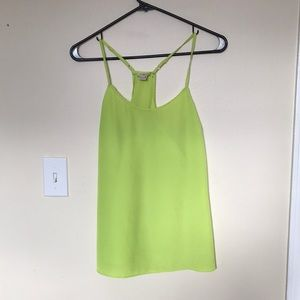Highlighter green/yellow top