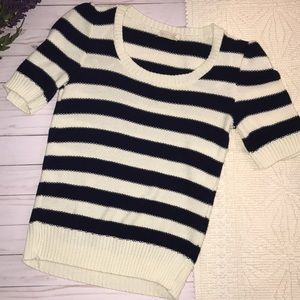 Pins & needles striped knit top
