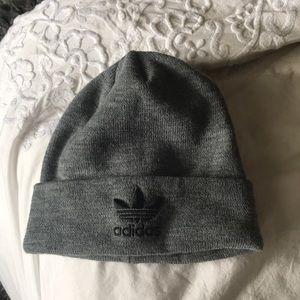 Women's grey adidas hat