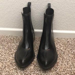 "Jeffrey Campbell ""stormy"" rain boots"