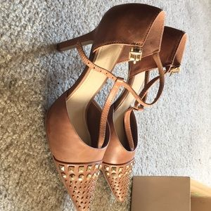 BCBG Heels with stud detailing