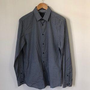 Navy Printed H&M Shirt