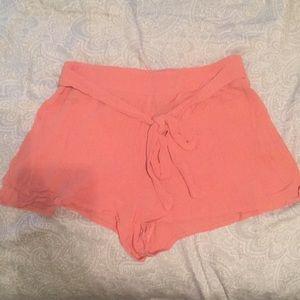 Tie Soft Shorts