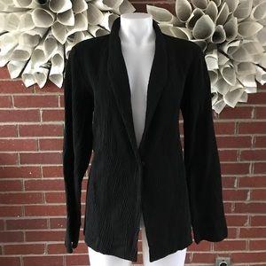 Eileen Fisher Cotton Textured Cardigan Duster