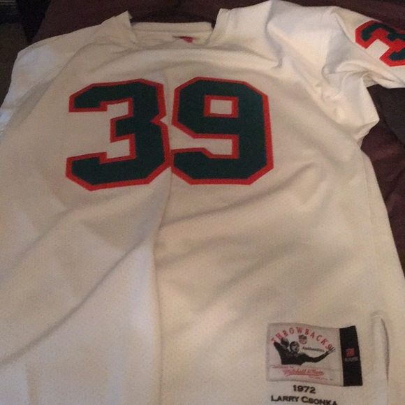 superior quality df98b 737ee Larry csonka jersey Mitchell and ness NWT