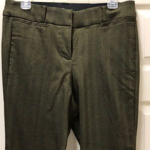 Lane Bryant Allie Boot Cut  14 Green Sexy Stretch