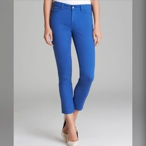 NYDJ Skinny Ankle Jeans Caribbean Blue