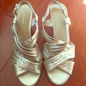 Liz Claiborne Strappy Wedge Sandals - Size 9