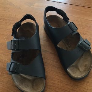 "Women's ""Birki's""  Birkenstock sandals, size 5"